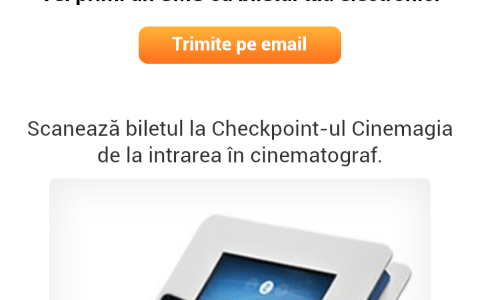 Utilizatorii Vodafone pot plati biletele la Hollywood Multiplex prin aplicatia Cinemagia