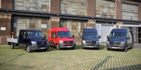 Noul Mercedes-Benz Sprinter, disponibil din septembrie