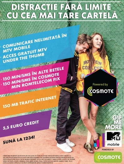 MTV Mobile powered by COSMOTE