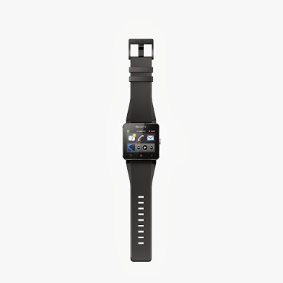 Sony SmartWatch_2_Black_Open_Front