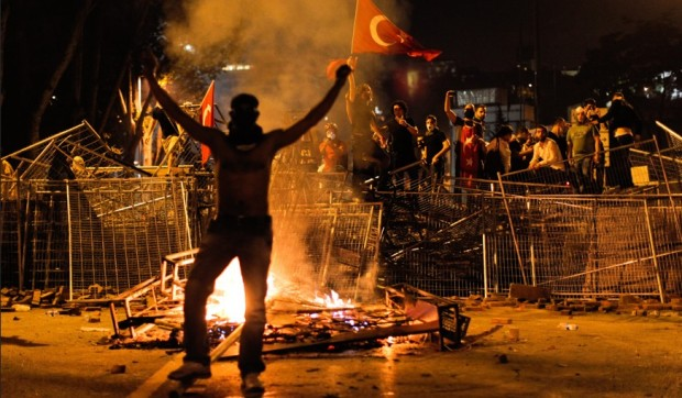 Turkey-protests