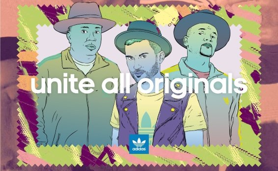 New Trends: adidas Originals & Run DMC & DJ A-Trak