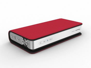 Wireless Speaker System NA10 cover red