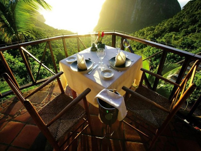 3. Ladera Resort, St. Lucia