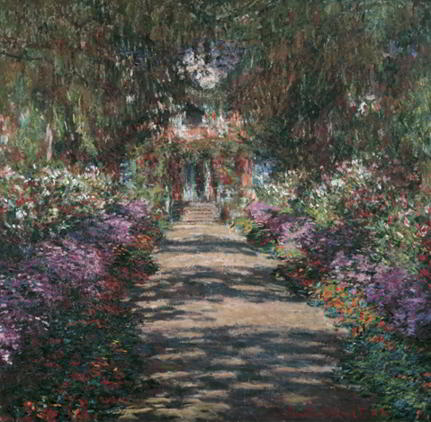 Monet: Garten in Giverny