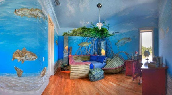 Island Shipwreck Bedroom