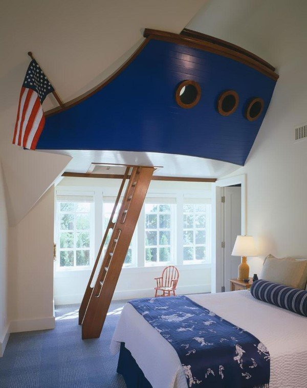 Ship Captain's Bedroom