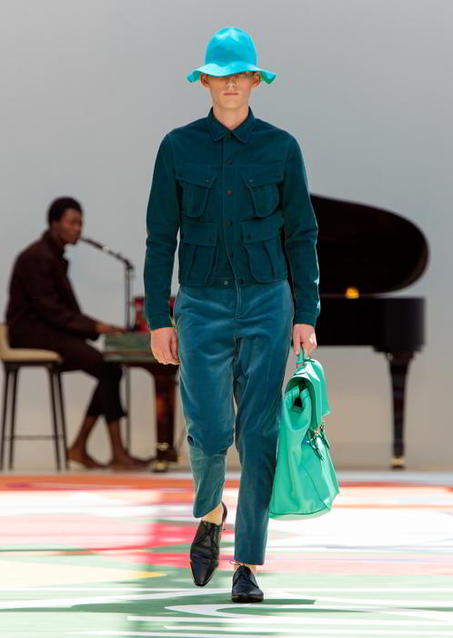 Burberry Prorsum Menswear Spring Summer 2015 Collection - Look 8