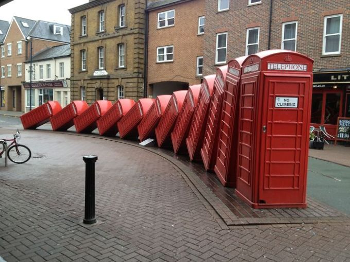 Telephone Boxes - Kingston, London