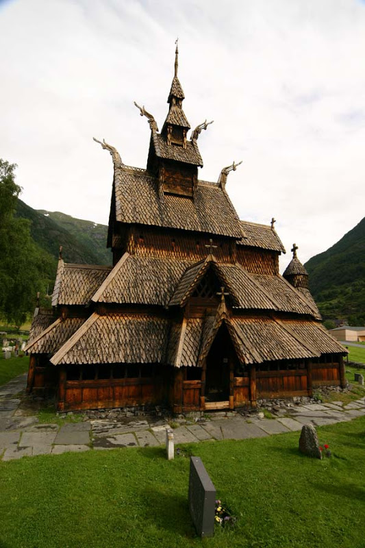 Borgund Stave Church (Lærdal, Norway)