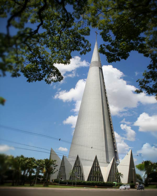 Cathedral of Maringa (Parana, Brazil)