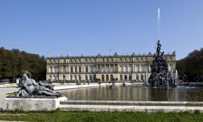 Palatul Herrenchiemsee, Germania, construit de Ludovic al II-lea