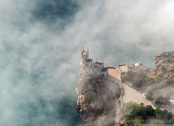 Swallow's Nest In Yalta, Crimea