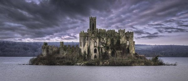 The Ruins On Castle Island, Lough Key, Boyle, County Roscommon, Ireland