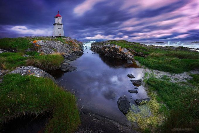 Molnes Lighthouse, Norway
