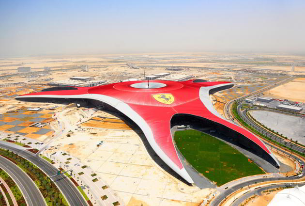 Ferrari World, Abu Dhabi, Emiratele Arabe Unite
