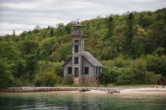 rand Island East Channel Light House, Michigan
