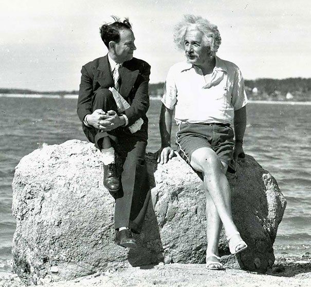 Albert Einstein, Vara lui 1939, Nassau Point, Long Island, NY