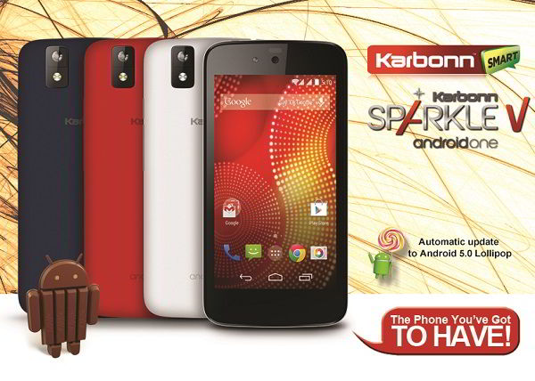 Karbonn Android One_Sparkle 3