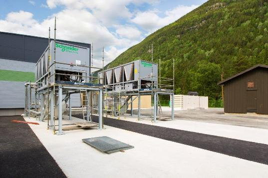 Schneider Electric - Green Mountain Data Center..