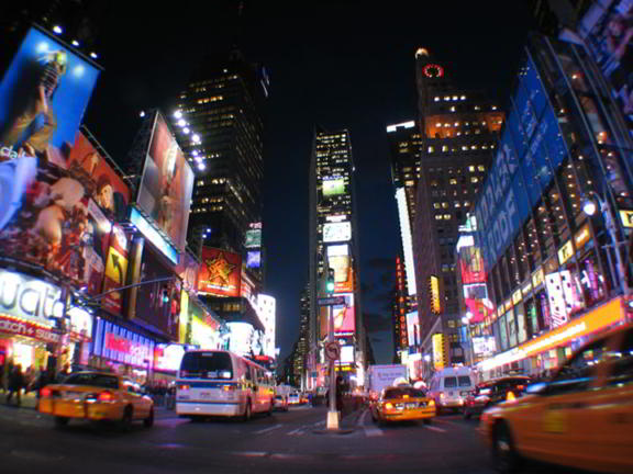 3. Times Square, New York, New York
