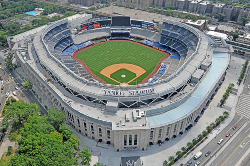 9.Yankee Stadium, New York, New York