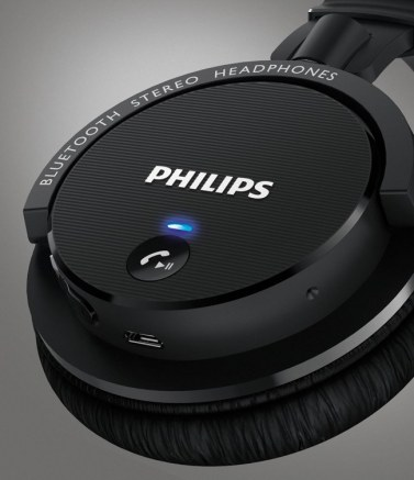 Casti wireless Philips SHB5500BK - 2