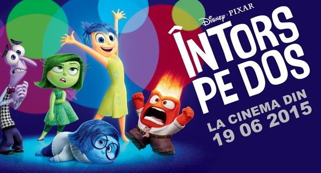 "Romanian TV star Wilmark, Diana Cavallioti from TVR 1 and ""The Voice of Pro TV"" together in the animated adventure «Inside Out»"