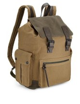 North Coast - pure cotton canvas rucksack M&S