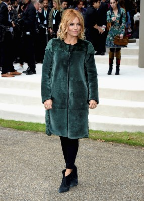 LONDON, ENGLAND - SEPTEMBER 21: Sienna Miller attends the Burberry Womenswear Spring/Summer 2016 show during London Fashion Week at Kensington Gardens on September 21, 2015 in London, England. (Photo by Stuart C. Wilson/Getty Images for Burberry) *** Local Caption *** Sienna Miller