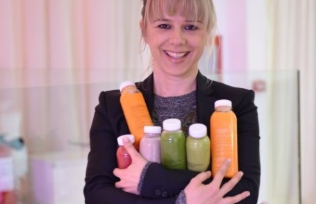 Amra Makarevic, fondatoarea Cold Pressed Juicery