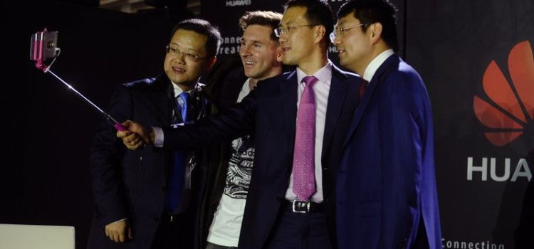 Messi, ambasador global al brand-ului Huawei