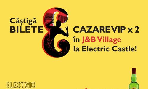 J&B te transforma in VIP la Electric Castle