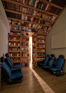 Minds Hub. Book Lounge 3
