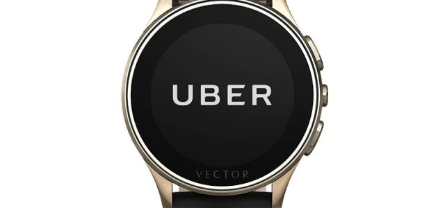 New trends: poți comanda mașini Uber direct de pe Vector Watch