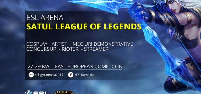 League of Legends se mută la Comic Con 2016