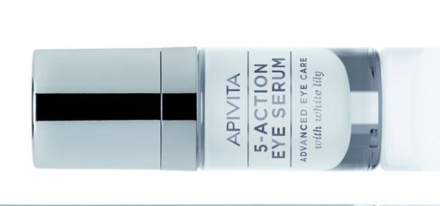 Beauty Trends: APIVITA lansează 5-Action Eye Serum, cu extract de crin alb