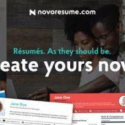 Novorésumé, de la un proiect universitar la un Start-Up de succes