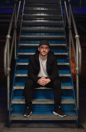 LONDON, ENGLAND - FEBRUARY 02: Spanish DJ Cuartero ahead of the world's first drive through immersive theatre experience on February 2, 2017 in London, England. The 'Night that Flows' saw 100 guests immersed in the story of one fictional night as it unfolds across five European cities, bringing to life different elements of the new Toyota C-HR. (Photo by Gareth Cattermole/Getty Images for Toyota) *** Local Caption *** Cuartero
