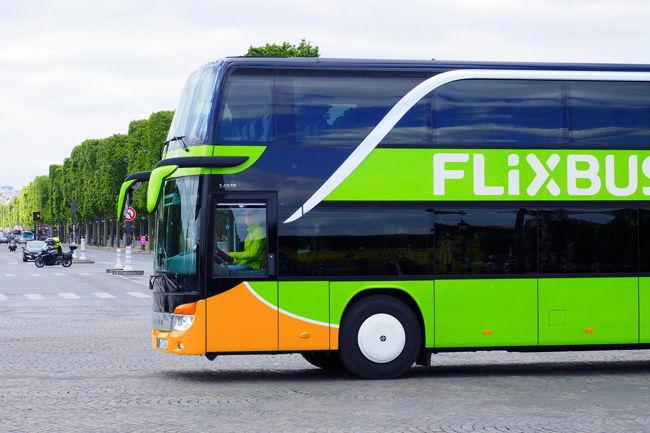 FlixBusom diljem Europe (free for editorial)