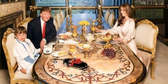 Am tras cu ochiul în casa președintelui Statelor Unite, Donald Trump – Galerie FOTO