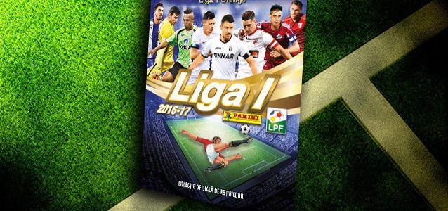 LPF şi Panini lansează cea de-a treia ediţie a albumului Liga 1 Orange