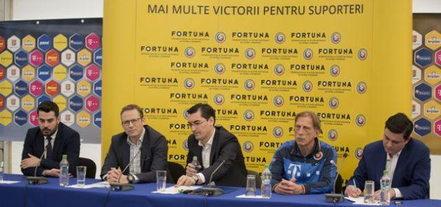 Fortuna, sponsor oficial al Echipei Naționale de Fotbal a României