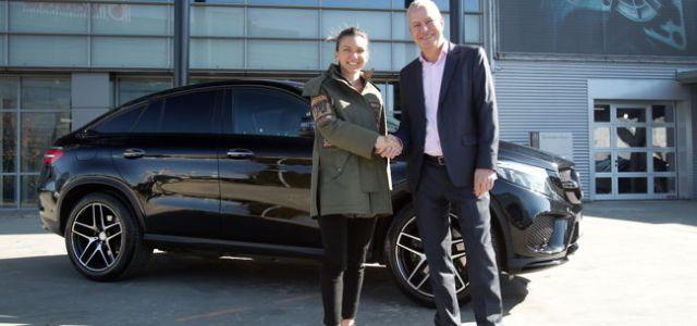 Simona Halep devine ambasador Mercedes-Benz în România
