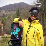 Adelina Pestritu, mini-vacanță la snowboard și spa în Sinaia