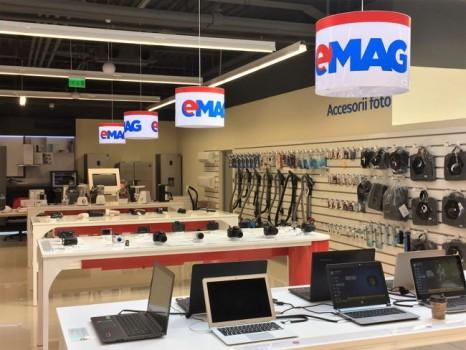 eMAG deschide al doilea showroom din București după cel din Crângași