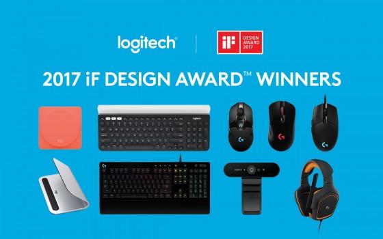 Logitech își doboară propriul record, câștigând nouă premii la iF DESIGN AWARDS 2017