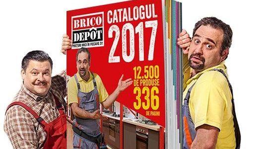 Brico Dépôt lansează Catalogul 2017. Endorserii sunt Adrian Văncică și Mihai Bobonete!