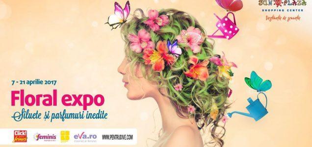 Expoziție de flori marca Maison Dadoo în Sun Plaza