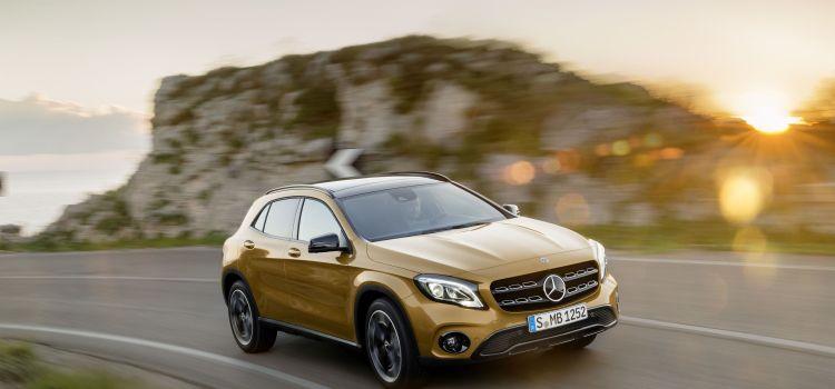 Facelift și motorizări noi pentru Mercedes-Benz GLA